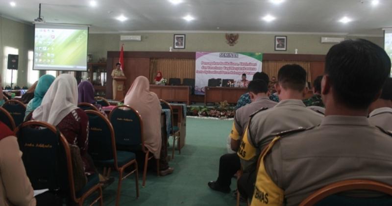 Seminar Pencegahan Radikalisme Ekstremisme dan Terorisme serta optimalisasi peran perempuan 11