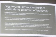 Seminar Pencegahan Radikalisme Ekstremisme dan Terorisme serta optimalisasi peran perempuan 8