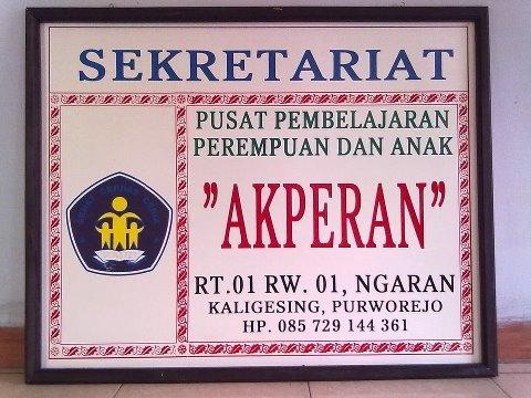 logo AKPERAN Kaligesing