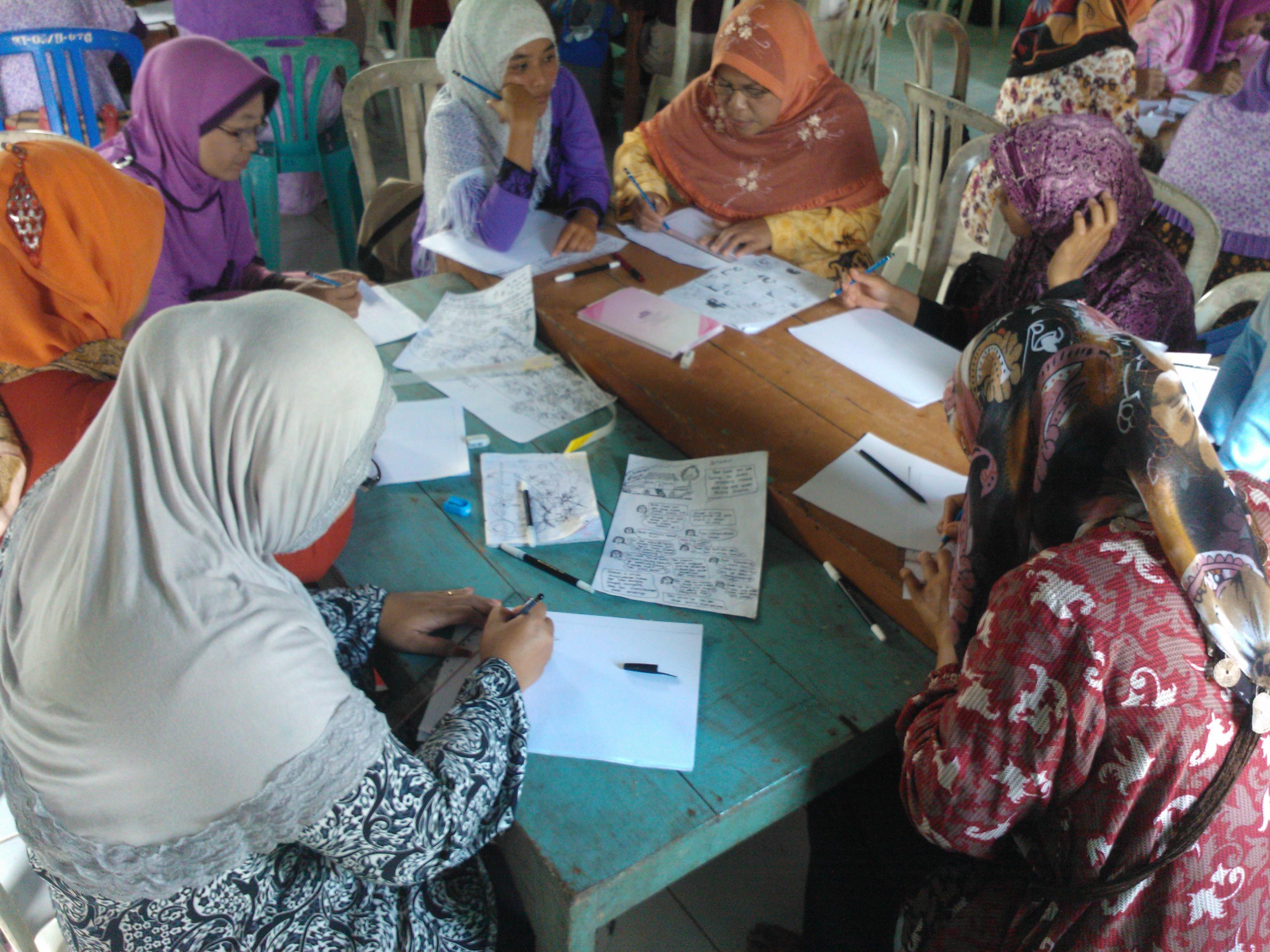 workshop kampanye media bagi perempuan