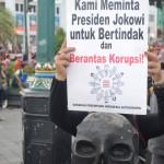 unjuk rasa menolak revisi UU KPK ft rifgenk