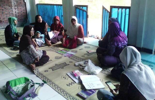 Pertemuan rutin P3A Anggun, Kalirejo, Kulon Progo