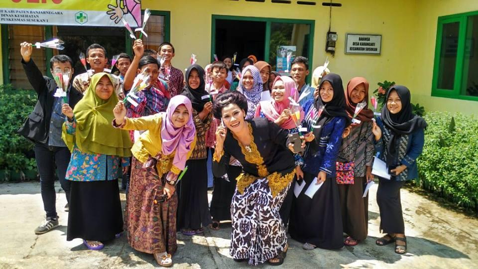 Organisasi remaja Karangjati Canggih Tangguh dan Ramah, desa Karangjati, Susukan, Banjarnegara ft Purwanti