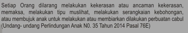 UU Perlindungan Anak N0 35 2014 Pasal 76E