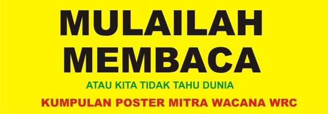 Poster Mitra Wacana WRC
