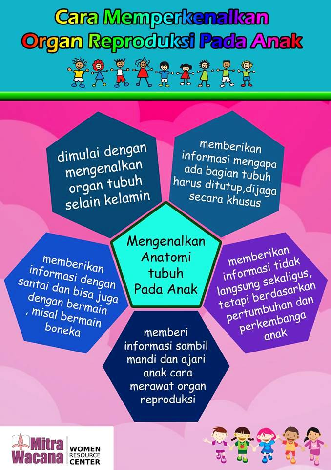 Poster Memperkenalkan Organ Reproduksi Pada Anakk