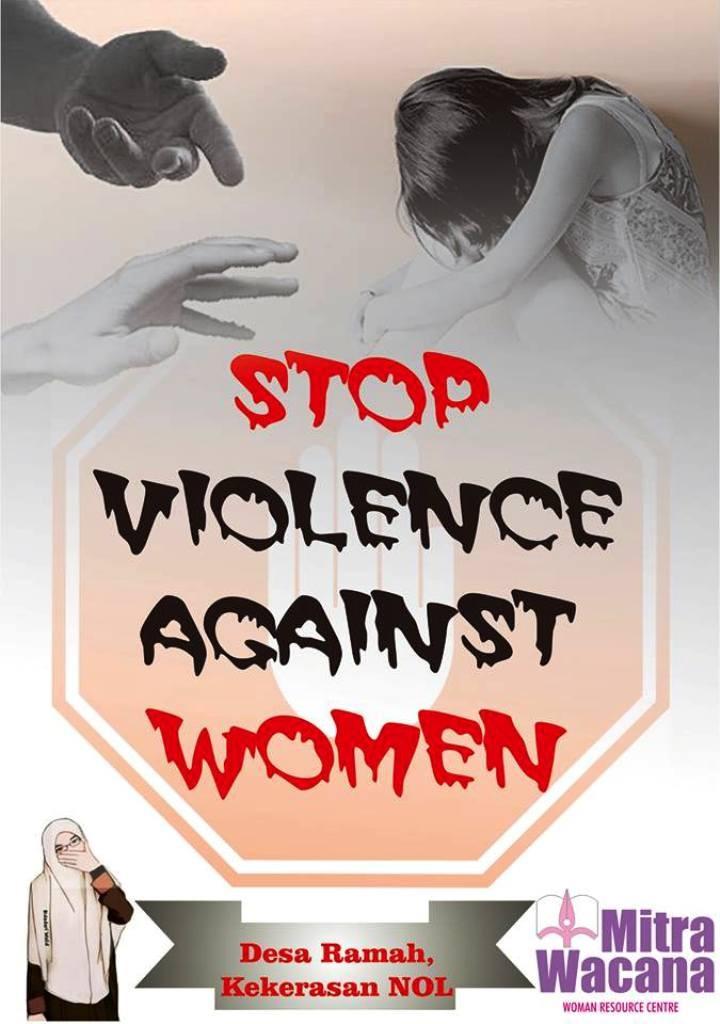 Poster Anti Kekerasan Terhadap Perempuan