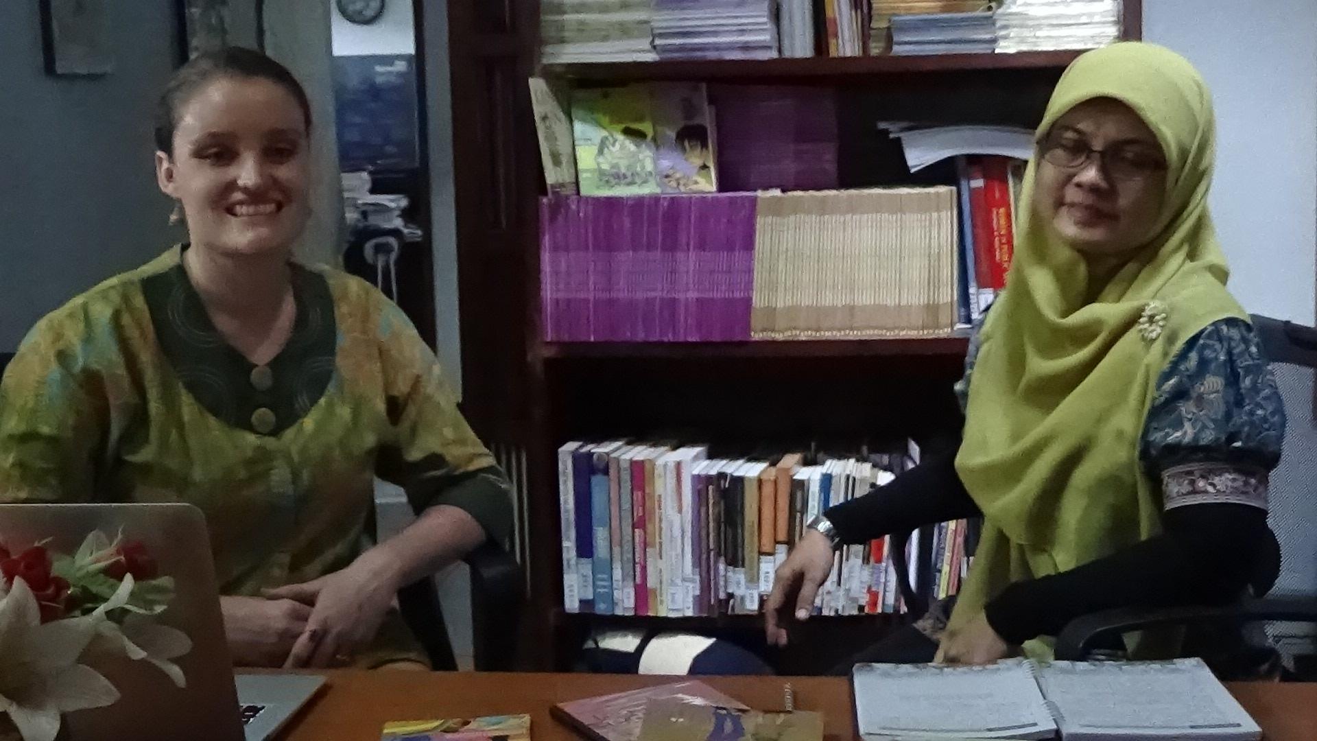 wawancara dengan Imelda Zuhaida. Foto Waton