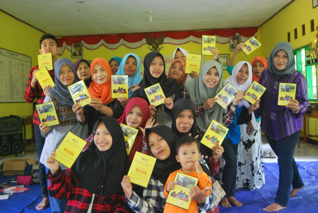 Pemutaran film karya remaja di Banjarnega. Foto: WahyuTntra