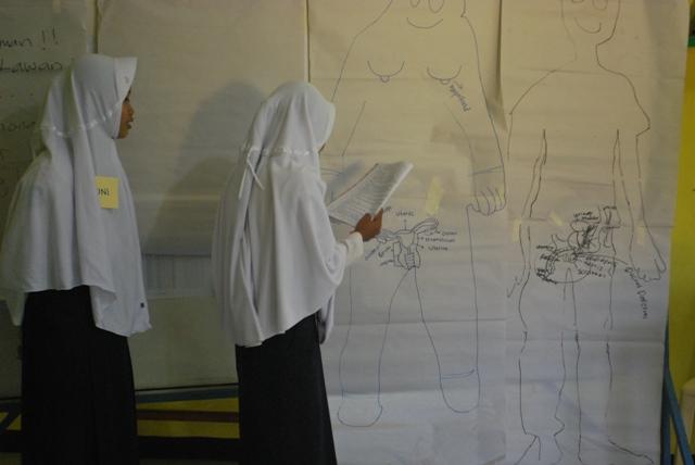 Workshop Penguatan Kelompok Remaja di Kecamatan Susukan Kabupaten Banjarnegara. Foto Oleh Arman