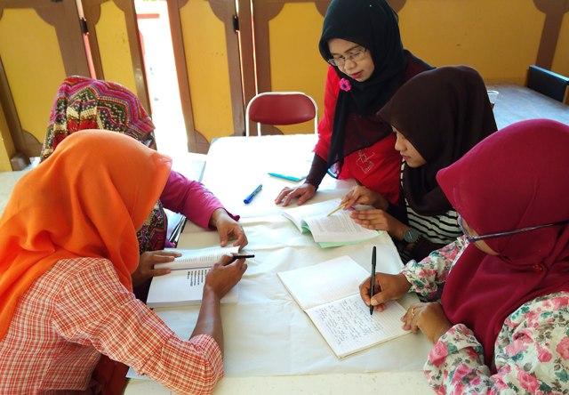 Diskusi buku fiqih anti trafficking di Kulon Progo. Foto: wtn