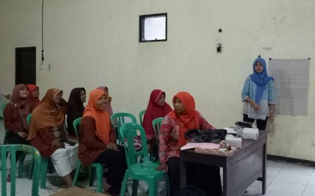 Pertemuan POSBINDU Desa Kebakalan Banjarnegara