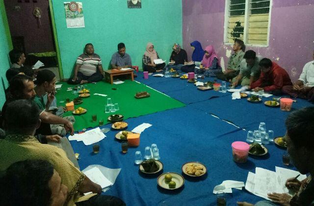 Dokumentasi pertemuan warga. Foto: Mutoharoh