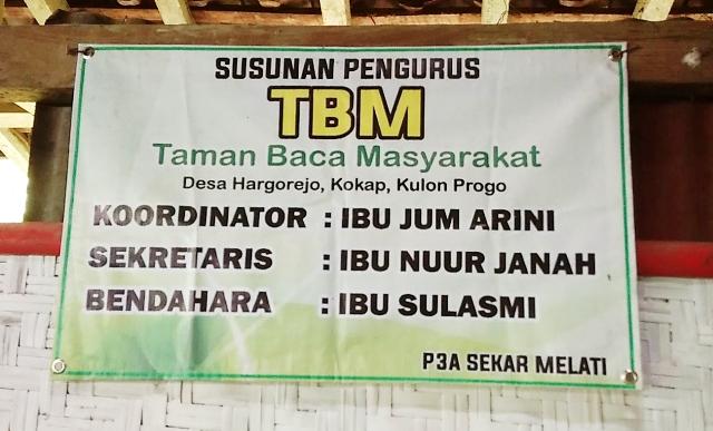TBM di Hargorejo, Kokap, Kulonprogo. Foto: Wtn