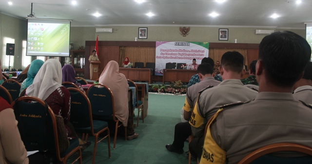 Seminar pencegahan RET Kulon Progo. Foto Tnt