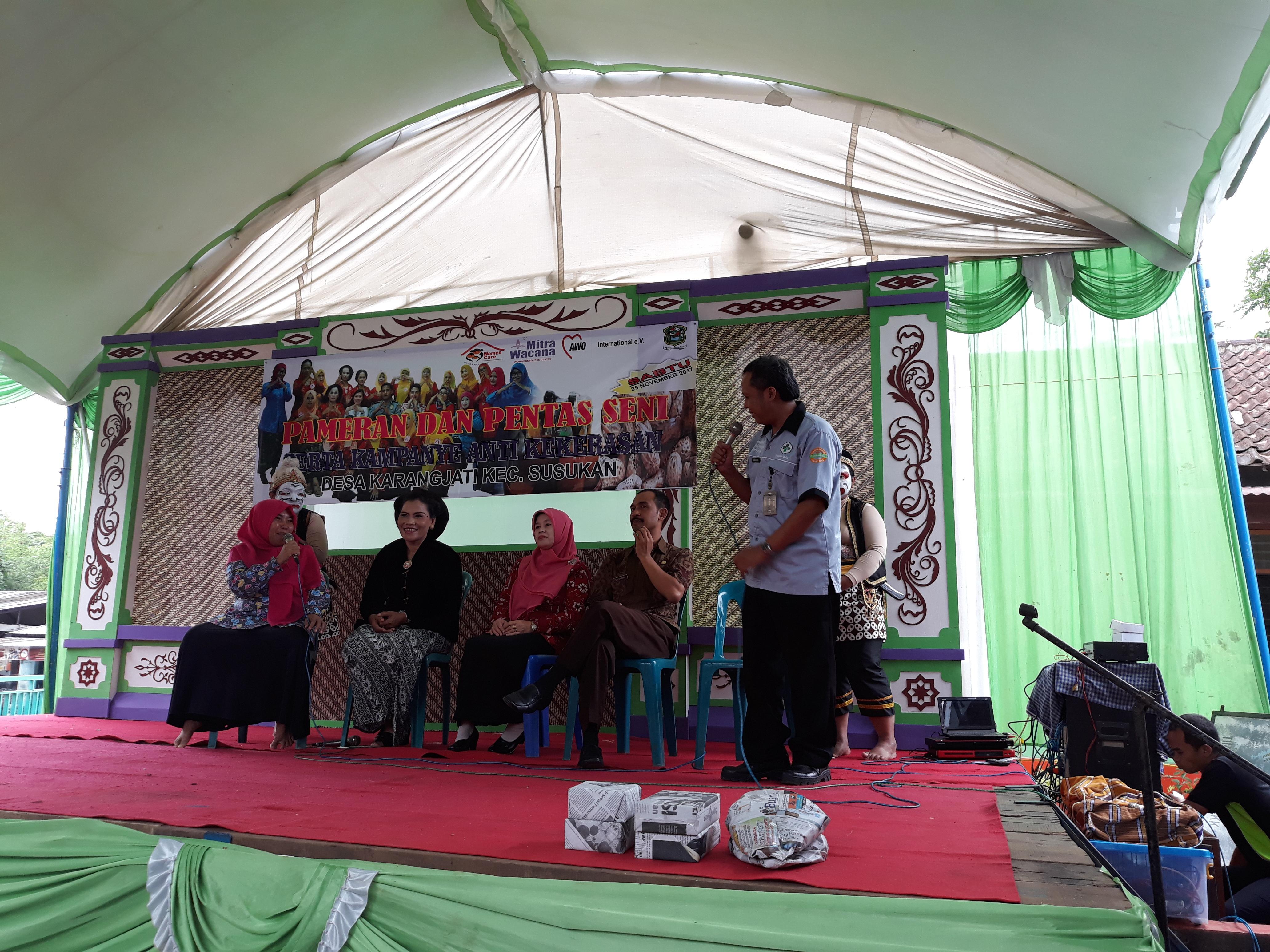 Dokumentasi Pertemuan warga P3A Women Care Karangjati