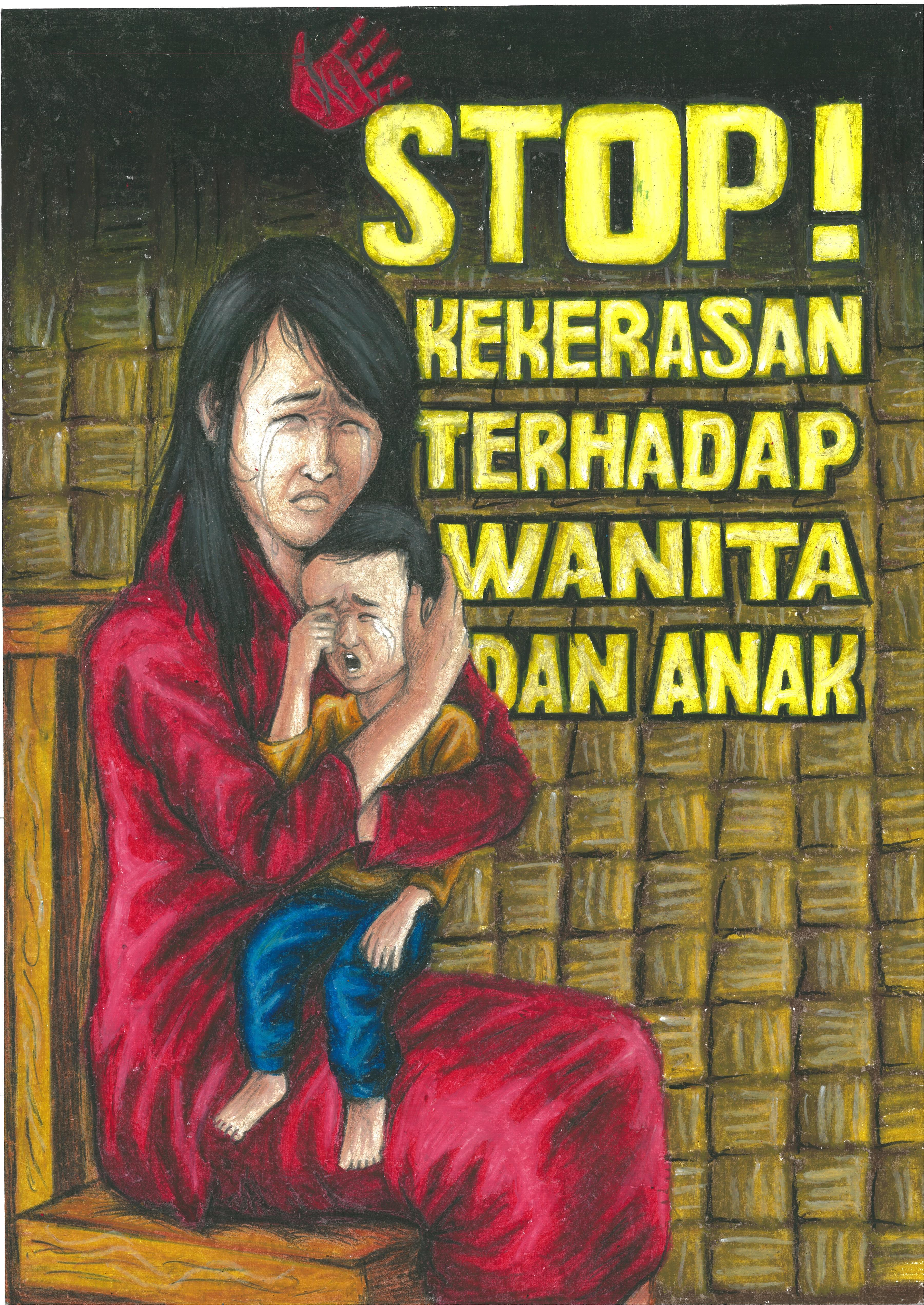 Karya Yuditya Effendi. Juara I lomba Poster Tahun 2015 Kategori Remaja Kecamatan Punggelan, Kabupaten Banjarnegara
