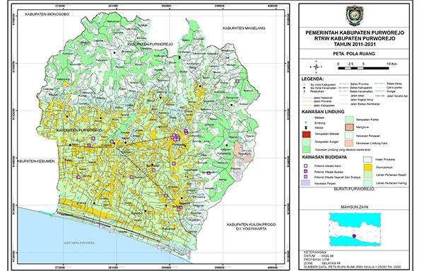 Peta Kecamatan Bayan, kabupaten Purworejo. Untuk high ...