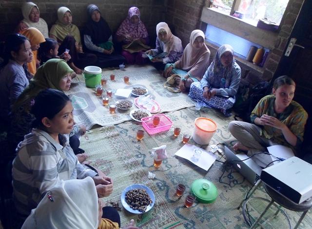 Pertemuan rutin P3A Rengganis, Kulon Progo