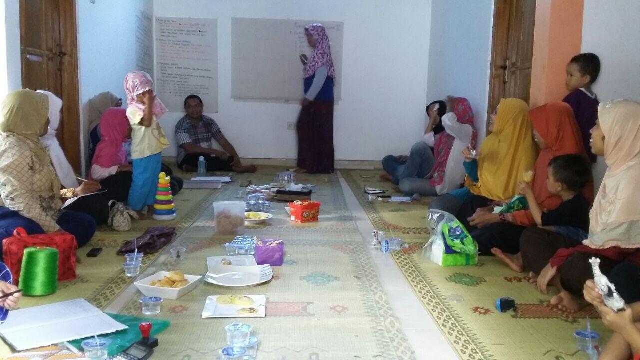 pertemuan pusat pembelajaran perempuan dan anak Rengganis, Salamrejo ft Astriani