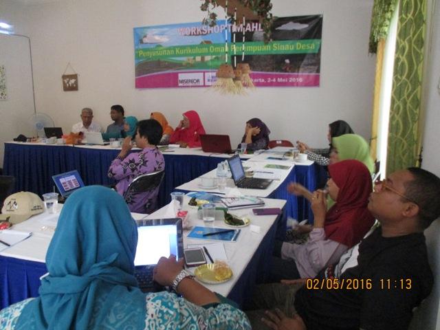 workshop perempuan sinau desa ft Ngatiyar