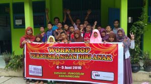 Workshop Perkembangan Diri Anak Bondolharjo, ft Desi