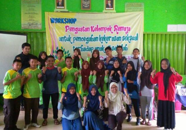Workshop Penguatan Kelompom Remaja di Kecamatan Punggelan, Banjarnegara. Sumber foto: Desi dan Dewi