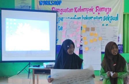 Workshop Penguatan Kelompok Remaja di Punggelan Banjarnegara. Foto oleh Arif Sugeng