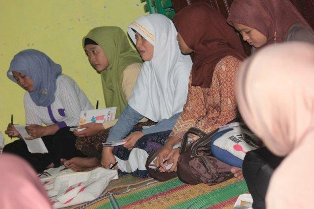 Dokumentasi pertemuan rutin Desa Berta, Banjarnegara. Foto wahyu tnt