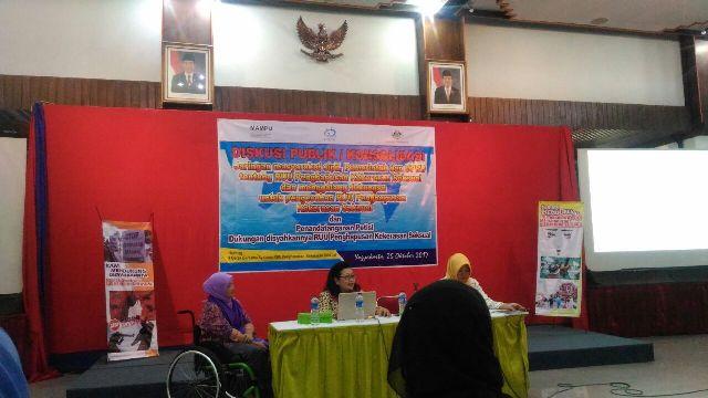 Diskusi Publik RUU Penghapusan Kekerasan Seksual. Foto: Analta Inala