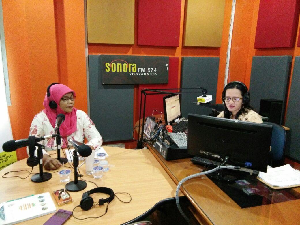 Talkshow Radio Sonora. Foto: Mun