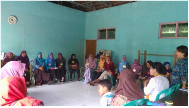 Dokumentasi Pelatihan Fasilitator P3A di Punggelan Banjarnegara