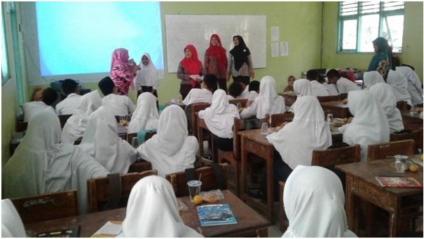 Dokumentasi Sosialisasi Kekerasan Seksual Terhadap Anak (KSTA) di SMP Susukan