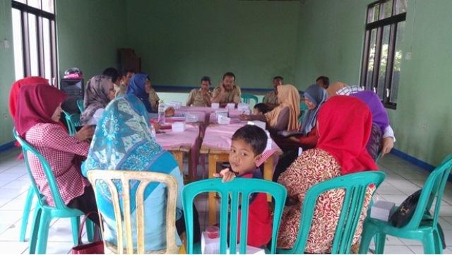 Dokumentasi audiensi P3A SEJOLI kepada pemerintah desa Bondolharjo Banjarnegara