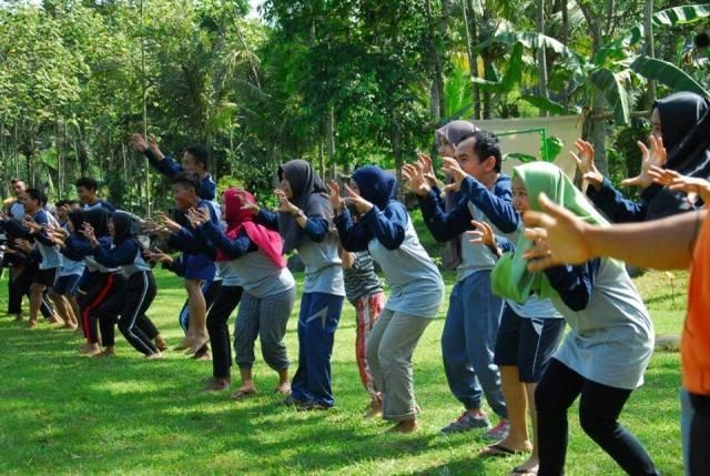 Dokumentasi outbond P3A Banjarnegara